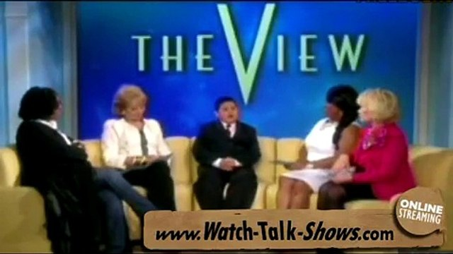 Rico Rodriguez on The View - April 13, 2010 - ABCs Modern Family