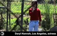 dropping knowledge QUESTION: Daryl Hannah, Los Angeles
