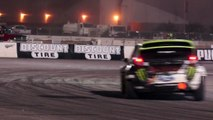[HOONIGAN] Race Car on Fire? Ken Block #AINTCARE, Presses on During Rally-X Race.