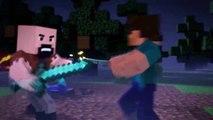 Notch vs Herobrine   Minecraft Fight Animation The Angels Among Demons   Minecraft Animation