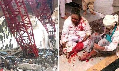 Makkah crane collapse- Dozens dead in tragedy in Mecca's Grand Mosque 11 september 2015