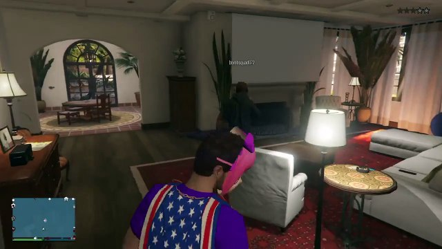 Grand Theft Auto V in mikes house
