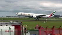 Dublin Airport Planespotting Aer Lingus Emirates SAS British Airways Air France Lufthansa