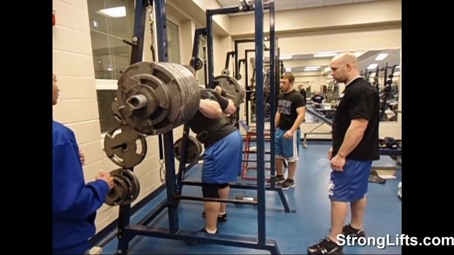 Mehdi Squatting with Mike Tuchscherer and Jeremy Hartman : StrongLifts