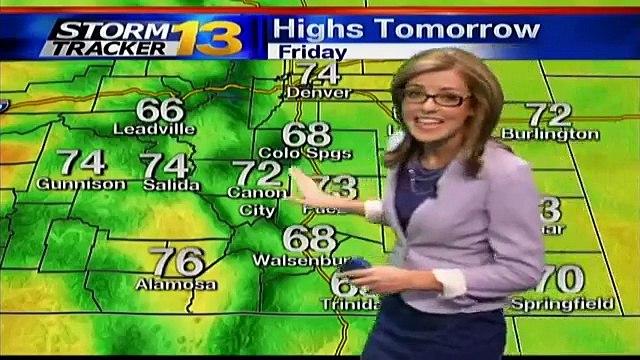 Rachael's Late Thursday Forecast