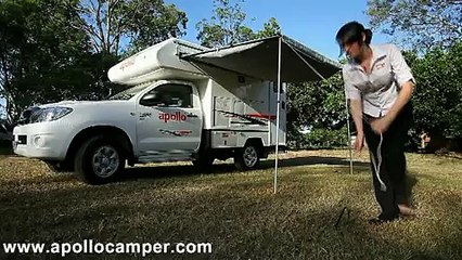4wd Hire Adventure Camper part2 Show Through from Apollo Motorhomes