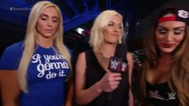 Charlotte interrupts Divas Champion Nikki Bella_ SmackDown, September 10, 2015 WWE Wrestling On Fantastic Videos