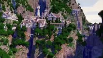 """Minecraft Parody """"Lord of the Rings   Fellowship of the Ring"""" - Minecraft Parody"""