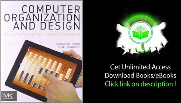 Computer Organization And Design Fifth Edition Video Dailymotion