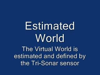 SLAM with Autonomous Explorer Robot  with Tri Sonar Sensor located by Particle Filter