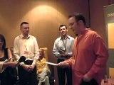 Alex Wilcock at Lib Dem Blog of the Year award 2006
