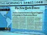 Headlines: Life improves in Egypt