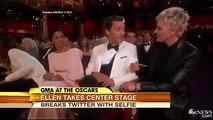 Oscars 2014 ,  Ellen Degeneres Best Oscar Moments at Oscar 2014 ,  Ellen Oscar Selfie Oscar Pizza