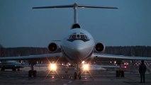 Ту-154Б и Ту-134 Запуск и Выруливание. Tu-154B & Tu-134 Start-Up & Taxi.