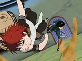 In the end-Rock Lee vs Garra