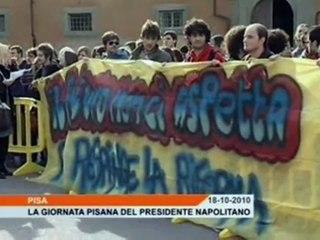 Napolitano a Pisa per i duecento anni della Scuola Normale