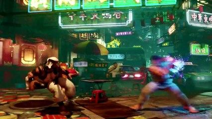 Street Fighter V  : Rashid  Reveal Trailer de Street Fighter V