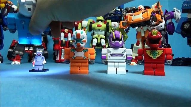 LEGO Simpsons mini. nouveau Jeu ou un robot R X Y W LED jouet Lego figurines Simson
