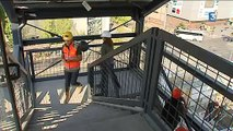 Projet Part-Dieu la démolition du bâtiment B10 va bon train  - 11/09/2015 - FR3 RHONE ALPES