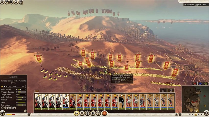 Total War: Rome 2 – Historical Battle – The Nile (47 BC) - Rome x Egypt -  video dailymotion