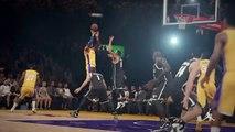 NBA 2K15 PS4 1080p HD Mejores jugadas Los Angeles Lakers-Brooklyn Nets