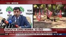 Selahattin Demirtaş & Figen Yüksekdağ | Basın Açıklaması | 21 Temmuz 2015