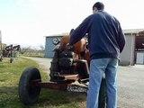 Démarrage de mon tracteur allgaier