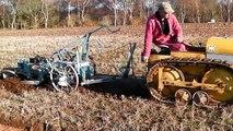 Bristol crawler tractor ploughing 1