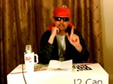 Axl Rose discusses Chinese Democracy record sales at Dr Pepper press conference December 13th 2008