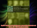 Bundle: Theories of Psychotherapy & Counseling: Concepts and Cases 5th + DVD-Theories in Action