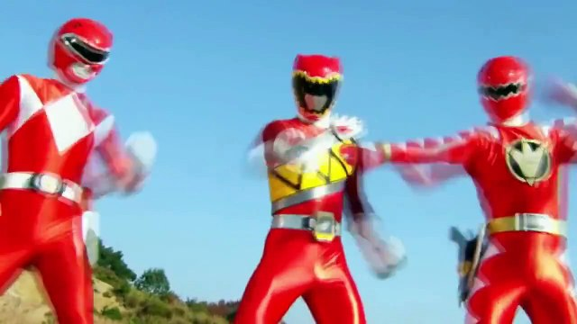 Power Rangers Dino Charge - Team Up w/ Dino Rangers