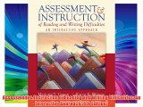 Assessment & Instruction of Reading and Writing Difficulties: An Interactive Approach (4th