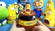 Larve de lave de son pour les fins de jeux traditionnels du casino, de l'aéroport, pororo ou robot mini jouet Larve son mini-jeu & Pororo Tobot jouets