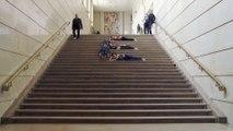 Vue sur les marches : Philippe Jamet