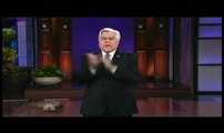 Jay Leno Rips Obama in Monologue as Barack Waits Off Stage
