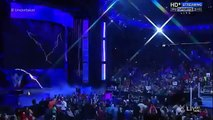 The Undertaker entrance at Raw 2015
