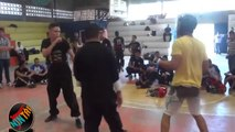 Strong Fighting Kenpo Karate VS Wushu Kung Fu