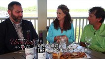 The Wharf Uncorked Ad - Drinks and Food 1