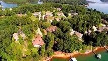 Aerial Video South Oak Pointe Lake Keowee Waterfront Subdivision Mike Matt Roach Top Guns Realty