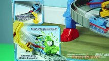 New Thomas and Friends Take N Play Spills & Thrills on Sodor Set Unboxing & 1st Thrill!