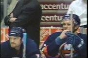 Gary Roberts KOs Kenny Jonsson - 2002 playoffs