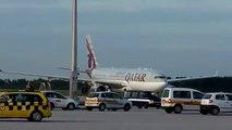 """Qatar Airways A330 meets new Lufthansa A380 """"MÜNCHEN"""" MUC - AIRBUS - Taufe am 28.07.2010"""