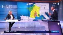 Alerte orages : douze départements, en vigilance orange