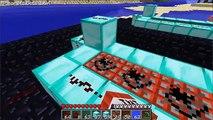 Minecraft Canon à TNT artillerie X 3!!