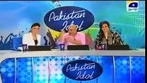 Pakistan Idol Funny Auditions SalmaN KhaN Pakistan Idol Very Funny Audition