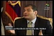 "Telesur entrevista al Presidente Rafael Correa - Parte # 02  ""Golpe de Estado"""
