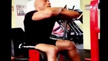 The Rock Workout Training in Budapest, Hercules Dwayne The Rock Johnson´s Turbine from Hel
