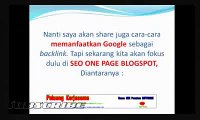Video Tips SEO Blogspot Template Blogspot SEO