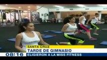 Selva Jimenez ganó el título de Miss Fitness en camino al Miss Bolivia Mundo