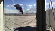 British Airways plane bursts into flames on Las Vegas' McCarran Airport before take off   Daily Mail